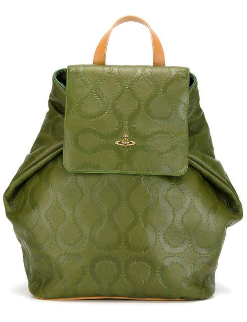 Vivienne Westwood | Женское Зелёный Squiggle Backpack
