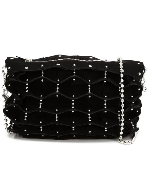 Comme Des Garcons | Женское Чёрный Studded Folded Shoulder Bag