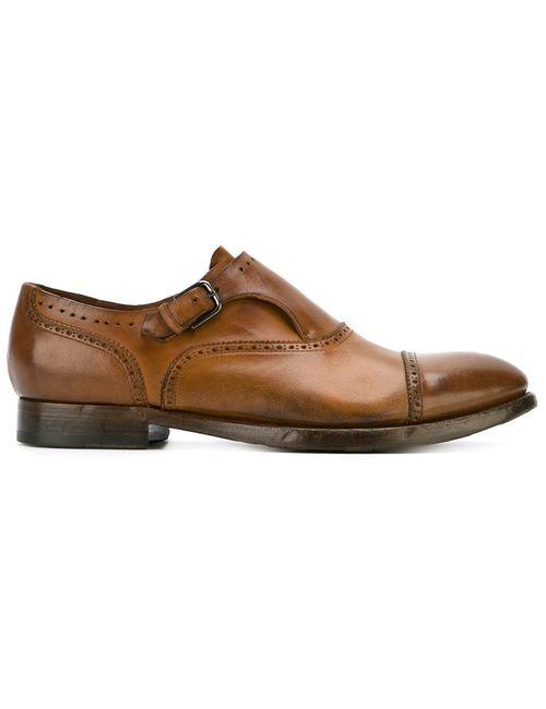Silvano Sassetti | Мужские Коричневые Туфли Монки