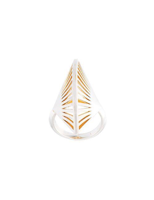 VOJD STUDIOS | Женское Серебристый Fan Precious Ring