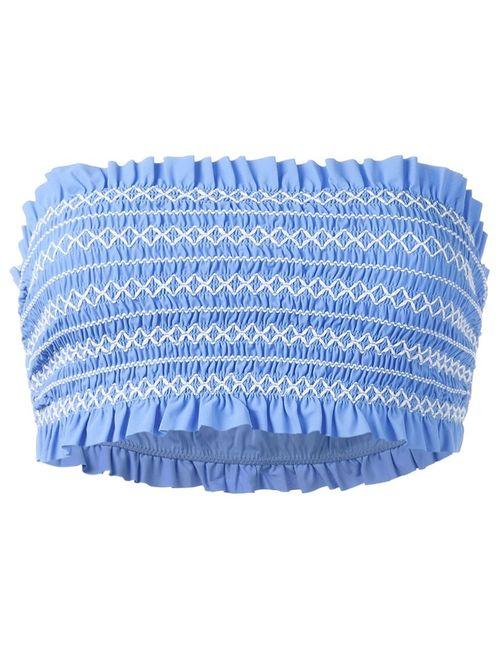 Tory Burch | Женское Синий Bandeau Bikini Top