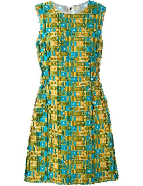 Dolce & Gabbana | Женское Зелёный Fringed A-Line Dress