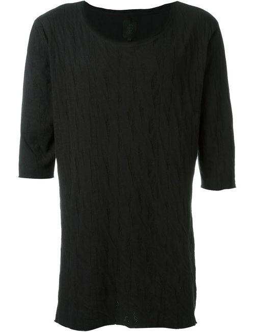 THOM KROM | Мужское Чёрный Textured T-Shirt