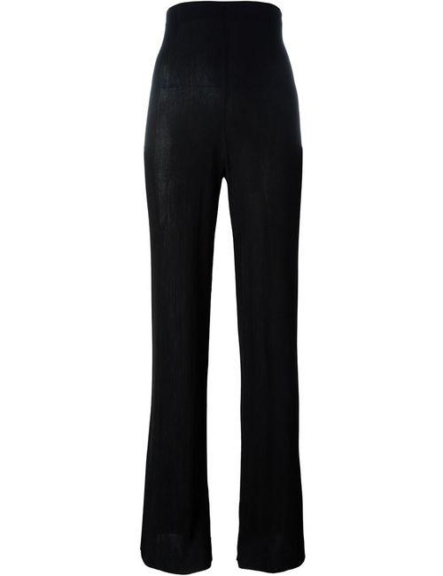 MSGM | Женское Чёрный High-Waisted Trousers