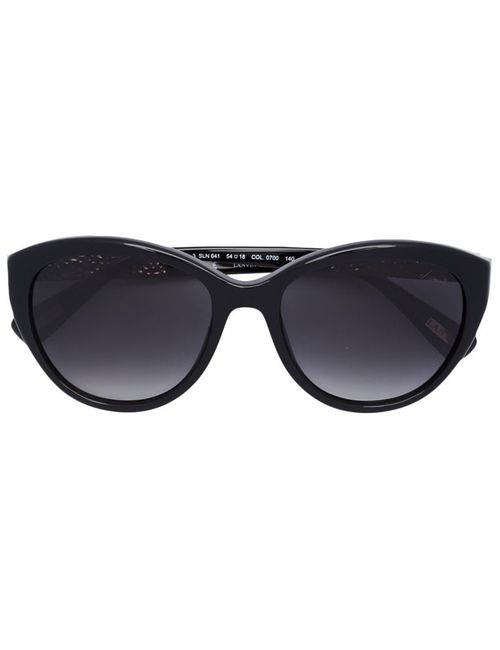 Lanvin | Женское Черный Oval Sunglasses