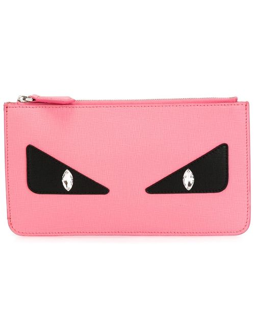 Fendi   Женское Розовый Bag Bugs Pouch