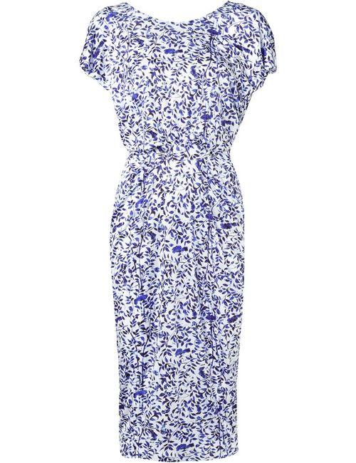 Saloni | Женское Синий Apsara Draped Dress