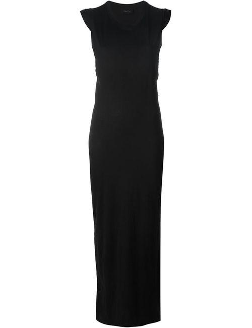 ANDREA YA'AQOV | Женское Черный Длинное Платье Без Рукавов