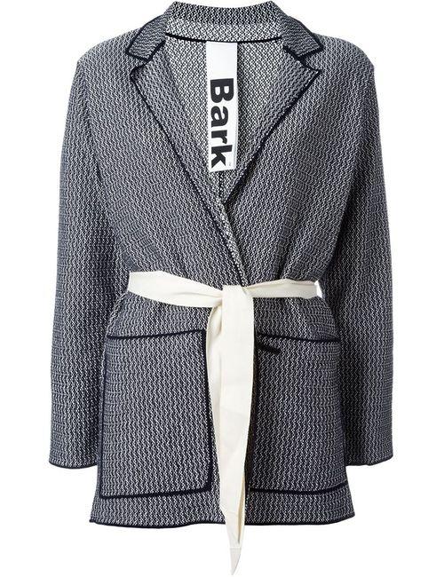 Bark | Женское Синий Belted Knit Jacket