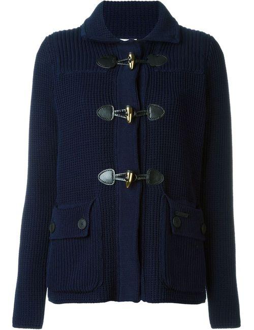 Bark | Женское Синий Knit Short Coat