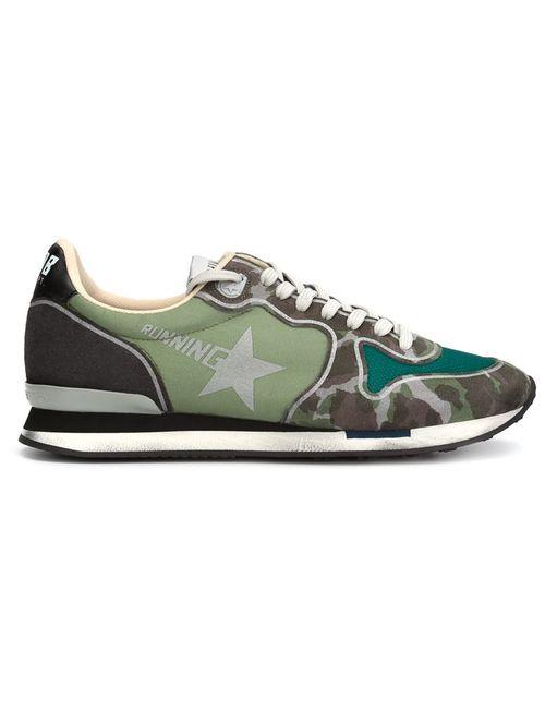 Golden Goose | Женское Зелёный Camouflage Print Sneakers