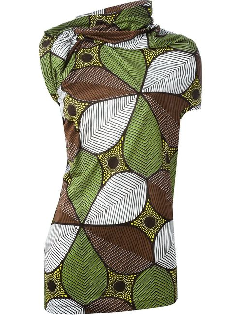 JUNYA WATANABE COMME DES GARCONS | Женское Многоцветный Printed Asymmetric Top