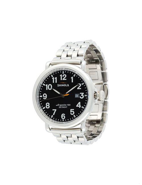 SHINOLA | Мужское Серебристый Runwell 41mm Watch