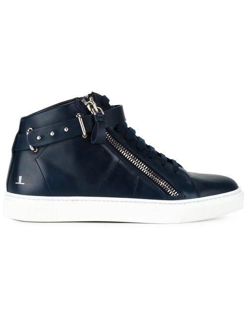 Louis Leeman | Мужское Синий Hi-Top Sneakers