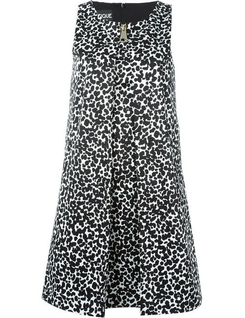 BOUTIQUE MOSCHINO | Женское Чёрный Dalmatian Print Short Dress
