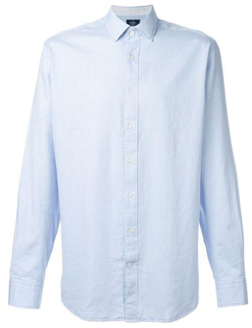 Hackett | Мужское Синий Patterned Shirt