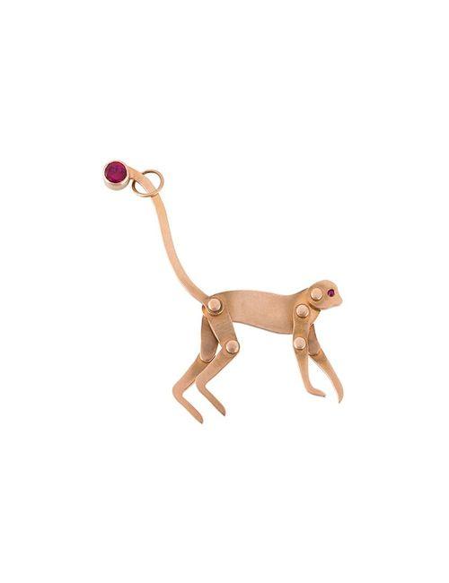 MARC ALARY | Серебристый Monkey Pendant Necklace