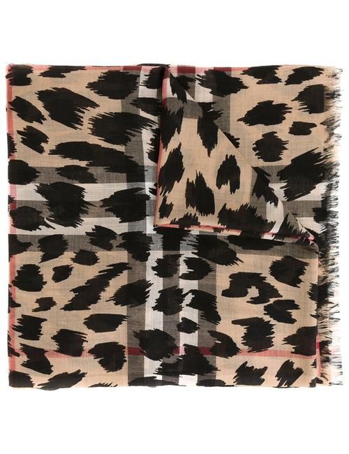 Burberry | Женское Sketched Animal Scarf