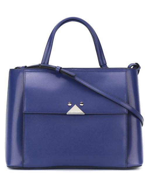 Emporio Armani | Женская Синяя Сумка-Тоут Blu Deco