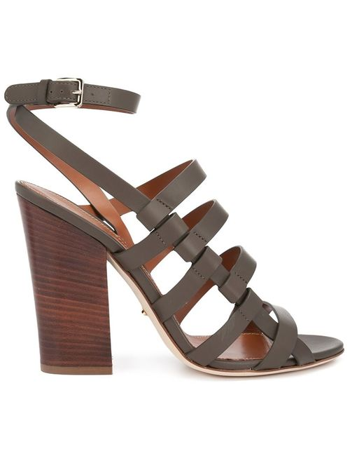 Sergio Rossi | Женское Зелёный Strappy Sandals