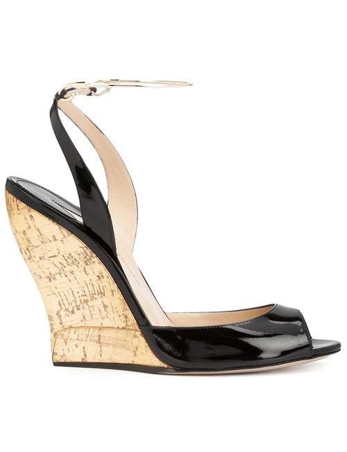 Paul Andrew | Женское Чёрный Wedge Sandals