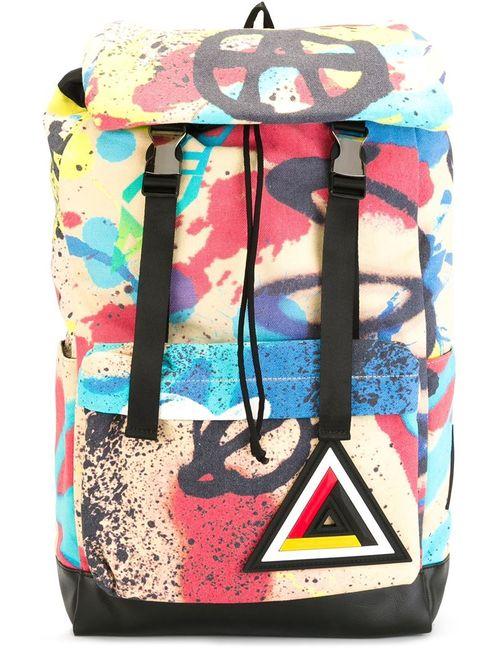 Ktz | Женское Чёрный Graffiti Print Backpack