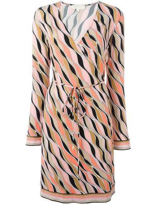 Michael Michael Kors | Женское Розовый Printed Wrap Dress