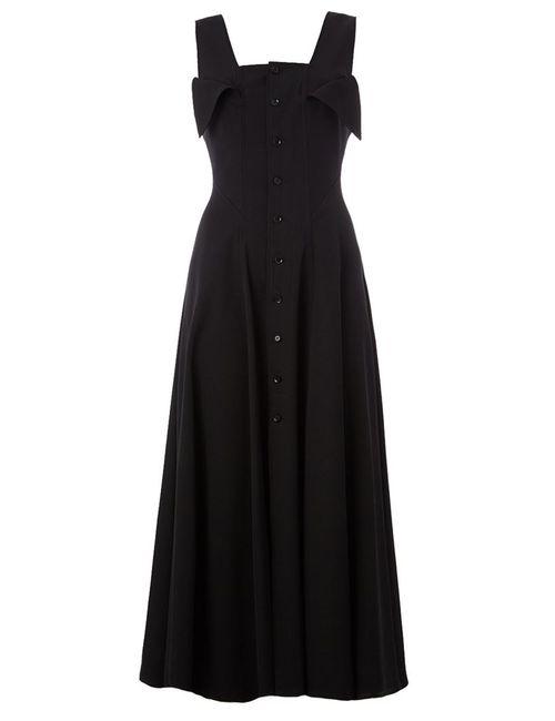Yohji Yamamoto   Женское Черный Платье Миди
