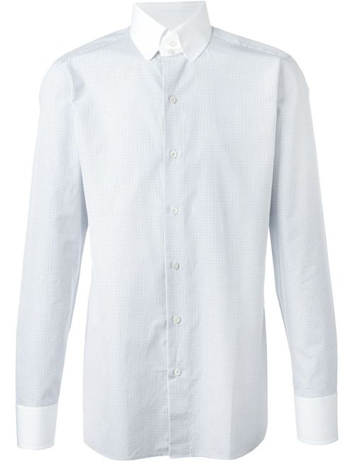 Tom Ford | Мужское Белый Checked Shirt