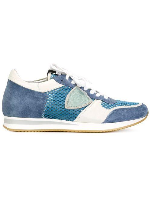 Philippe Model | Женское Синий Tropez Perforated Panel Sneakers