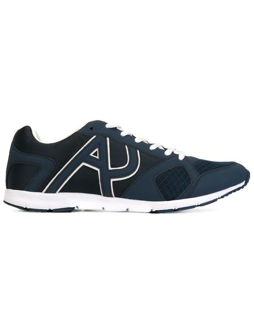 ARMANI JEANS | Мужское Синий Panelled Sneakers