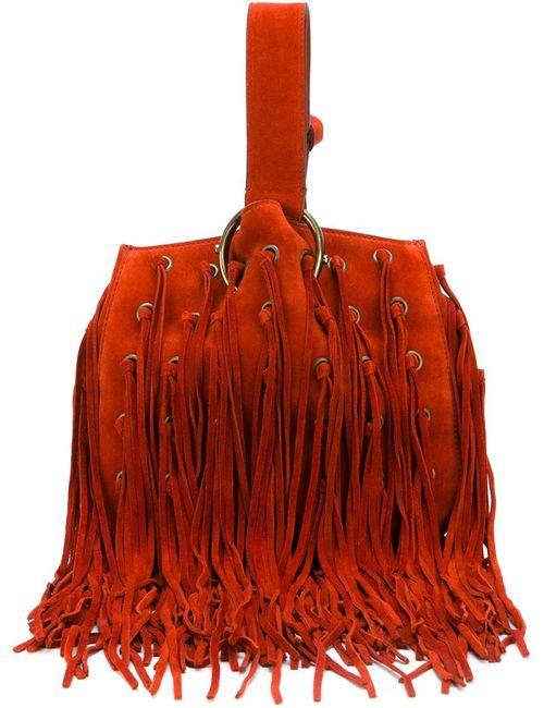 Roberto Cavalli | Женское Красный Fringed Handbag