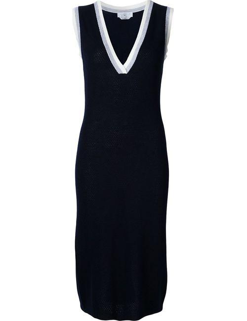 Gabriela Hearst | Женское Синий V Neck Knit Dress