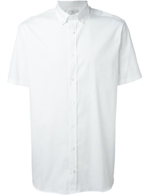 Joseph | Мужская Белая Рубашка С Короткими Рукавами