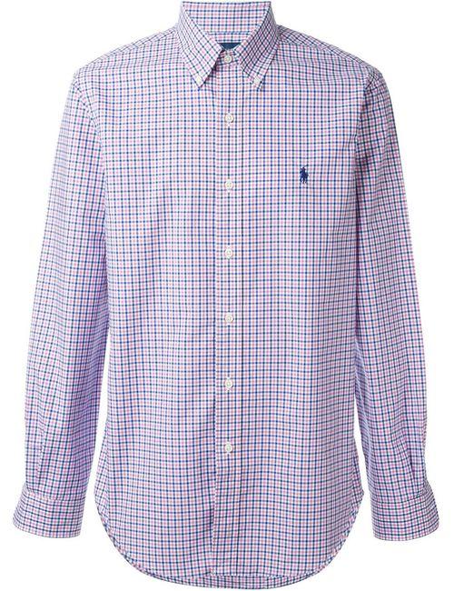 Ralph Lauren | Мужское Розовый Checked Shirt