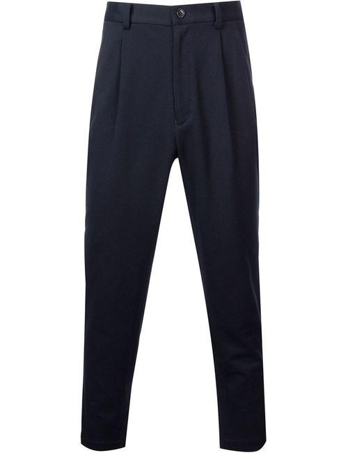 En Route   Мужское Синий Pleated Trousers