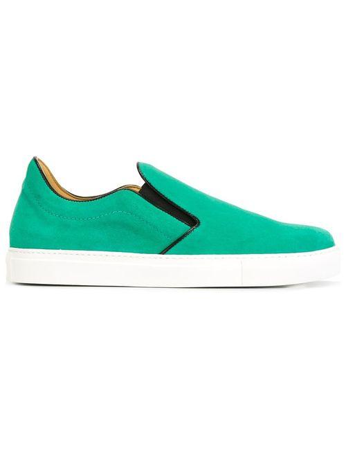 Mr.Hare | Мужское Зелёный Llewelyn Slip-On Sneakers
