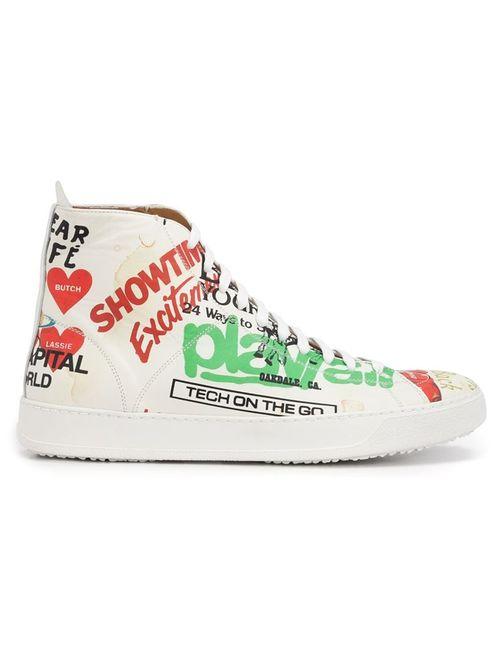 Vivienne Westwood | Мужское Белый Print Sneakers