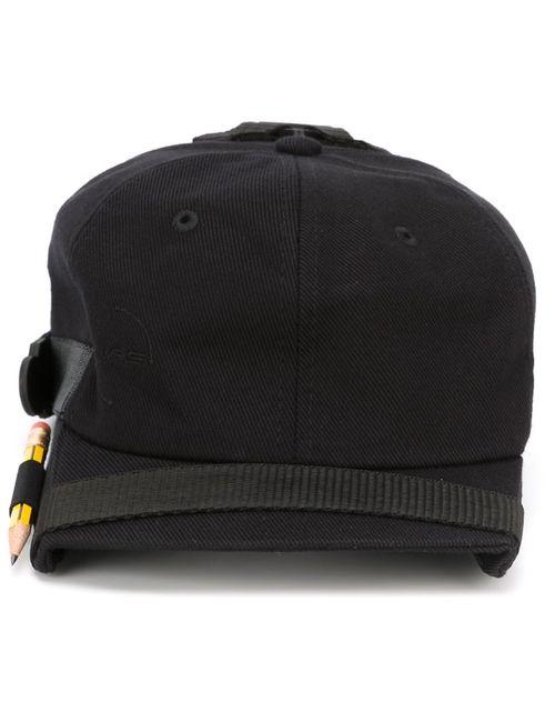 NASIR MAZHAR | Мужское Чёрный Box Peak Denim Belt Detail Cap