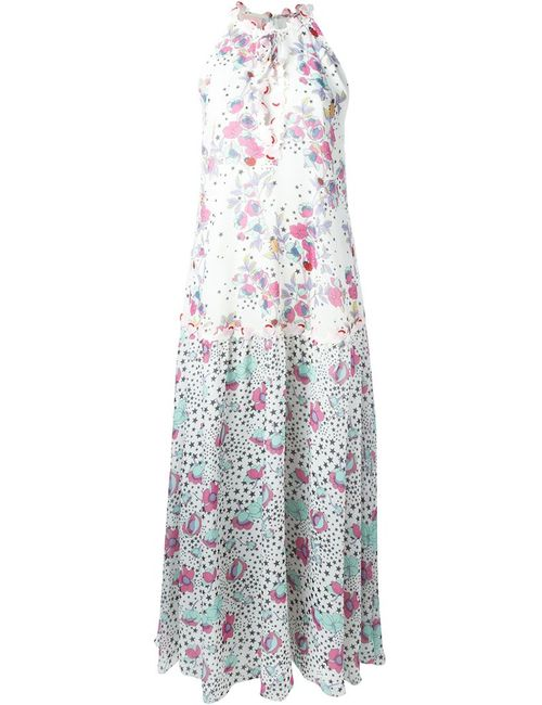 GIAMBA | Женское Белый Print Maxi Dress