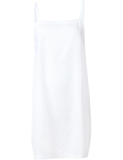 Dosa | Женское Белое Платье На Бретельках