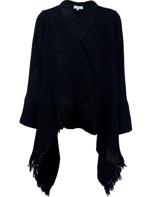 Iro | Женское Чёрный Fringed Drapey Cardigan