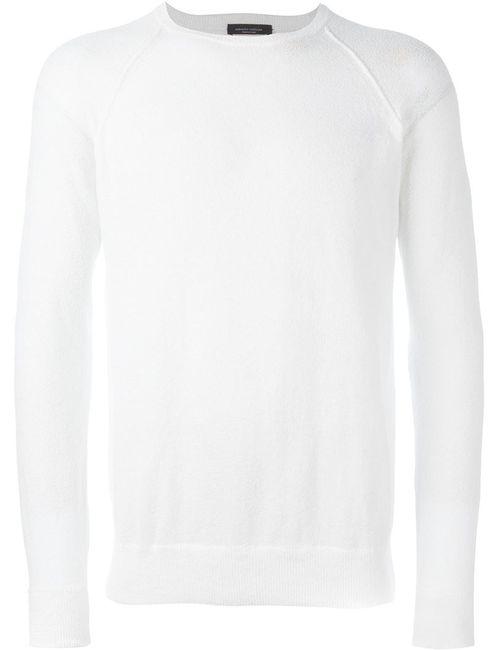 Roberto Collina | Мужское Белый Raglan Sweater