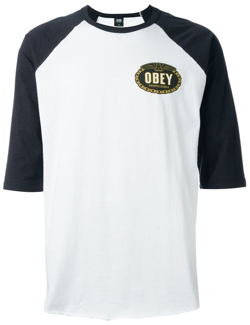 Obey | Мужское Белый Imperial Glory Eagle T-Shirt
