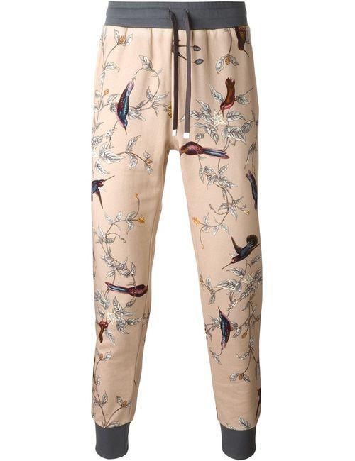 Dolce & Gabbana | Мужское Многоцветный Bird Print Track Pants