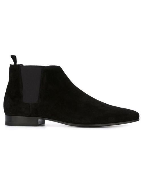 Saint Laurent | Мужские Чёрные Ботинки London