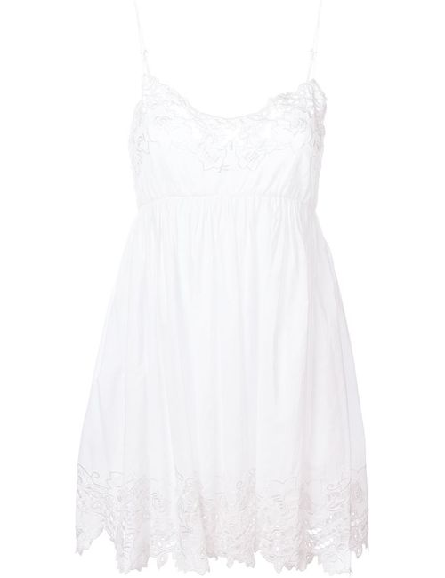 P.A.R.O.S.H. | Женское Белое Кружевное Платье
