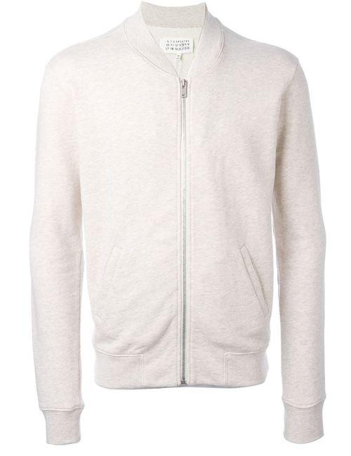 Maison Margiela | Мужское Белый Jersey Bomber Jacket