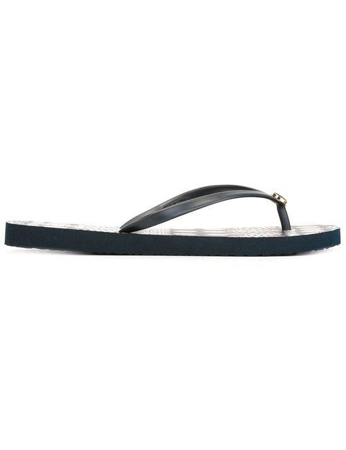Tory Burch | Женское Синий Classic Flip Flops