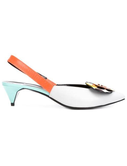 Pierre Hardy | Женские Многоцветные Туфли С Ремешком На Пятке